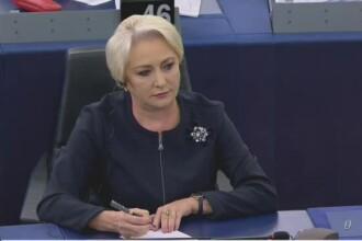 Dăncilă, în Parlamentul European: Noile Legi ale Justiţiei din România le redau judecătorilor independenţa