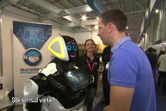 Escu, robotul dotat cu inteligenţă artificială şi o doză de umor. Gluma spusă în România