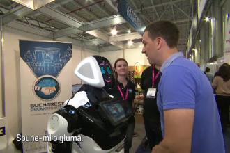 Roboţi care vorbesc şi ajută în gospodărie, la târgul IT de la Romexpo