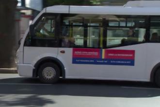 Decizia luată de autoritățile din Brăila, după ce pe autobuze au apărut mesaje pro-referendum