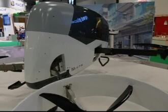 Salonul auto de la Paris. Mașina zburătoare gândită pentru a fi folosită pe post de taximetru