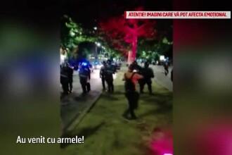 Un protestatar care a lovit-o pe jandarmerița agresată la mitingul din 10 august a fost arestat
