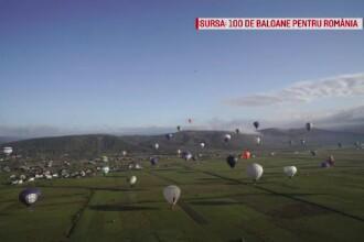 O sută de baloane cu aer cald vor fi lansate în apropiere de Baia Mare