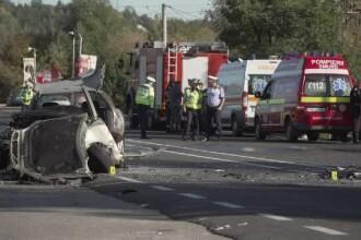 Accident grav pe DN1: doi turişti olandezi, ucişi pe loc când veneau de la Sinaia