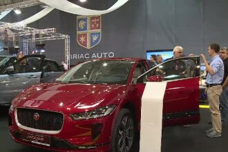 Salonul Auto București. Cum arată mașina electrică pe care o puteți lua cu 7.500 euro