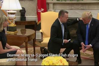 Trump, binecuvântat în Biroul Oval de pastorul eliberat din închisoarea turcească