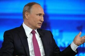 Întrebarea la care Vladimir Putin a ezitat să răspundă. Reacția jurnalistului