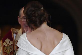 De ce și-a arătat Prințesa Eugenie cicatricea la nuntă. Rochia, aleasă special