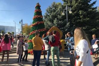 Orașul în care autoritățile s-au pripit și au instalat deja decorațiunile de Crăciun. FOTO