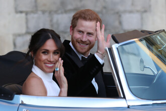 Cuplul princiar Harry - Meghan îşi începe turneul de 16 zile din Pacific