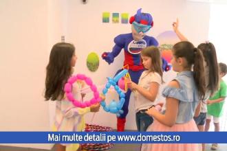 """(P) Domestos a dat startul campaniei """"Susține igiena în școli"""""""
