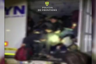 47 de migranți care voiau să iasă ilegal din România, prinși de polițiștii de frontieră