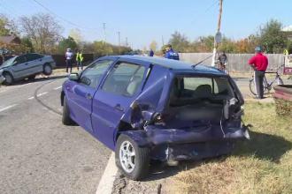 Accident violent cu 6 răniți în Dâmboviţa. Greșeala comisă de șofer