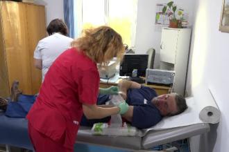 Criză de sânge. Zeci de angajaţi ai primăriei din Sebeş au donat