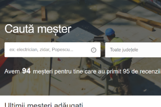 iLikeIT. S-a lansat mesterache.ro, site-ul dedicat meșterilor și clienților în căutare de meseriași