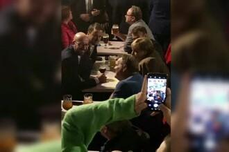 Lideri europeni la bere și cartofi prăjiți după prima zi de summit la Bruxelles
