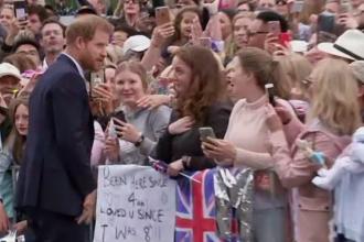 Gestul făcut de Prințul Harry pentru o fană înfocată. A izbucnit în lacrimi