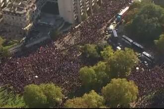 100.000 de britanici au cerut în stradă un nou referedum privind BREXIT