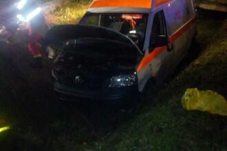 Accident grav în Sălaj. O femeie care era transportată cu ambulanța a murit