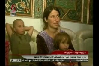 6 ostatici, eliberaţi de ISIS după 3 luni. Răscumpărarea uriaşă primită de jihadişti