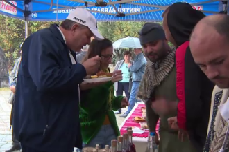 """Festival cu piftie de prepeliță și caracatiță, acasă la Brâncuși: """"E o premieră"""""""