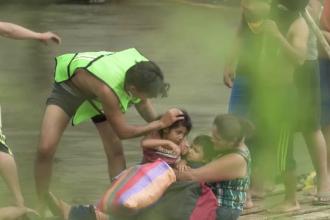 Gestul înduioșător al mexicanilor față de migranții care traversează țara spre SUA
