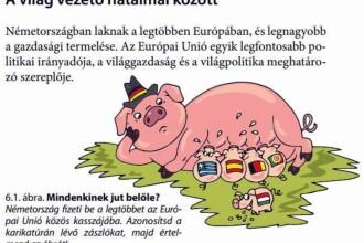 Manual de Geografie din Ungaria: Transilvania e casa maghiarilor, Germania este scroafa care nu hrănește Budapesta