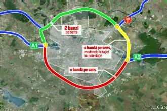 Cel mai aglomerat drum din țară, motiv de scandal pentru instituții. Șoferii, singurii care pierd