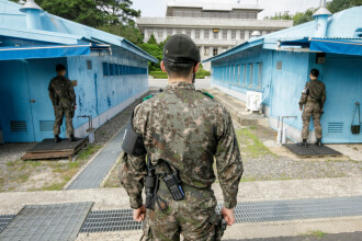 Nord-coreean, prins în timp ce încerca să ajungă în Coreea de Sud. Anunțul autorităților