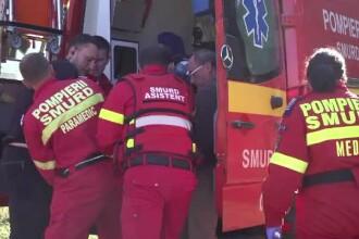 Trei persoane, între care o gravidă de 17 ani, victimele unui accident, în Sibiu