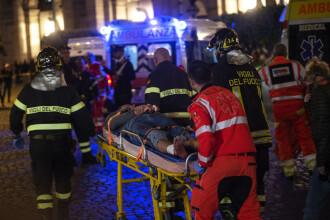 """Autoritătile italiene au anunțat identitatile celor raniti la metroul din Roma: """"O scena din Apocalipsa"""""""