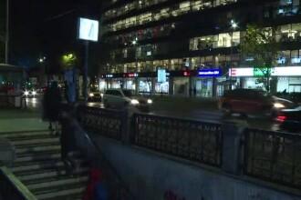 Bărbaţii care au scos pistolul într-o ceartă la metrou nu au fost încă prinşi