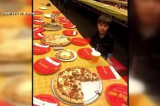 Surpriza trăită de un copil de șase ani la aniversarea căruia nu a venit niciun prieten invitat