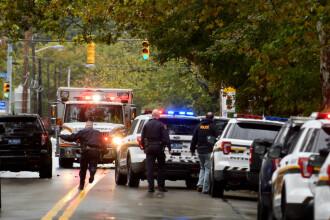 """Atac armat la o sinagogă din SUA, soldat cu 11 morți. Trump: """"Nu trebuie să existe nicio toleranţă pentru antisemitism"""""""