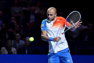 Marius Copil a pierdut finala de la Basel, disputată împotriva lui Roger Federer