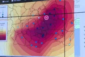 Cutremurul de 5,8 a zguduit toată România. 25 de persoane din Capitală au apelat 112