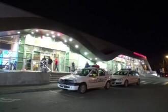 Un bărbat a murit imediat după ce avionul în care se afla a aterizat la Iași