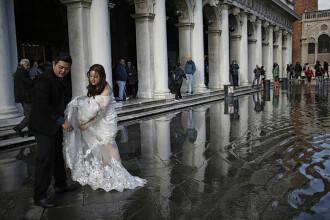 Veneția s-ar putea confrunta cu cele mai grave inundații din ultimi 40 de ani