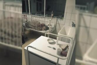 Imagini revoltătoare la Pediatrie, în Craiova. Părinții au filmat gândaci și paturi murdare