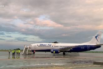Panică la bordul unei aeronave care a decolat din Cluj-Napoca. A fost efectuată o aterizare de urgență în Bratislava