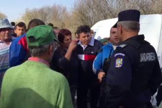 Scandal într-o localitate din Dolj din cauza pestei porcine. A fost necesară intervenția jandarmilor