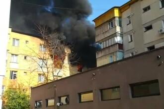 Explozie într-un bloc de locuinţe din Piatra-Neamț. Patru persoane au fost rănite. VIDEO