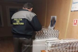 Contrabandiştii români au modificat un vagon de tren ca să aducă ţigări netimbrate