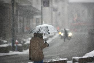 Vremea se va răci semnificativ în Bucureşti. Condiţii de lapoviţă în timpul nopții
