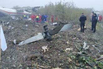 Avion prăbuşit lângă aeroportul Lviv din Ucraina. Ar fi rămas fără carburant