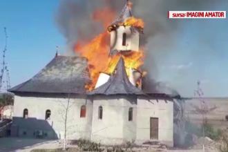 Mănăstirea Adamclisi, mistuită de flăcări, nu avea aviz de securitate