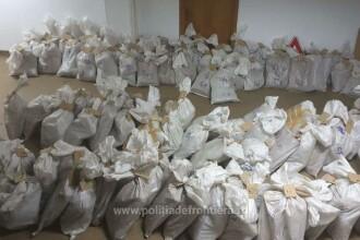 Dezvăluiri DIICOT privind captura de 750 kg de droguri. Unde urma să ajungă transportul