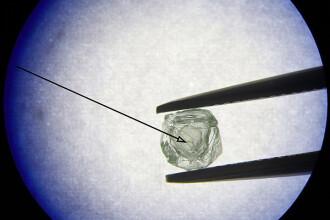 Descoperire unică în Siberia: primul diamant