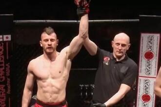 Condamnat pentru un atac cu toporul în România, a devenit luptător MMA în Marea Britanie