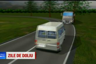ANIMAȚIE GRAFICĂ: Cum s-a produs de fapt accidentul cu 10 morţi din Ialomița